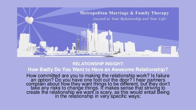 how to have an awesome relationship