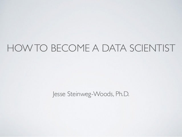 how to become succesful data scienctist