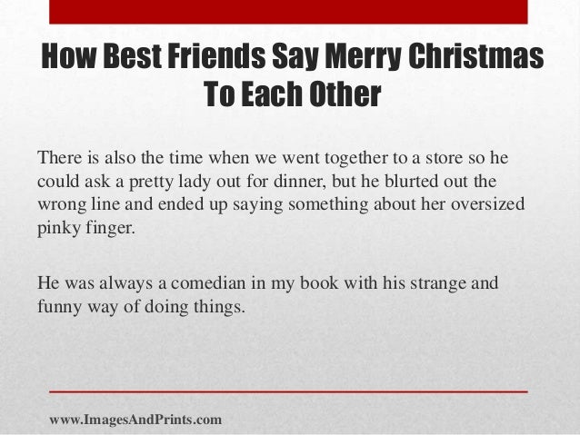 imagesandprintscom 4 how best friends say merry christmas