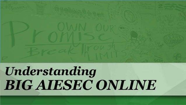 Understanding  BIG AIESEC ONLINE