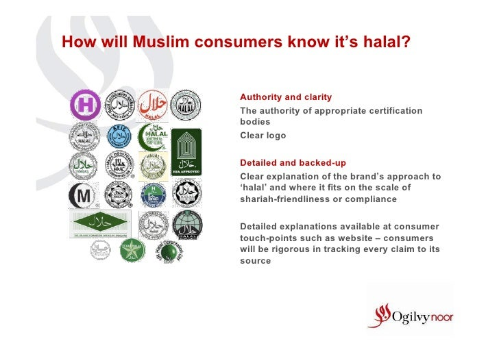 How will Muslim consumers know it's halal?                     Authority and clarity                     The authority of ...