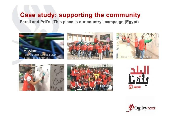 """Case study: supporting the communityPersil and Pril's """"This place is our country"""" campaign (Egypt)"""