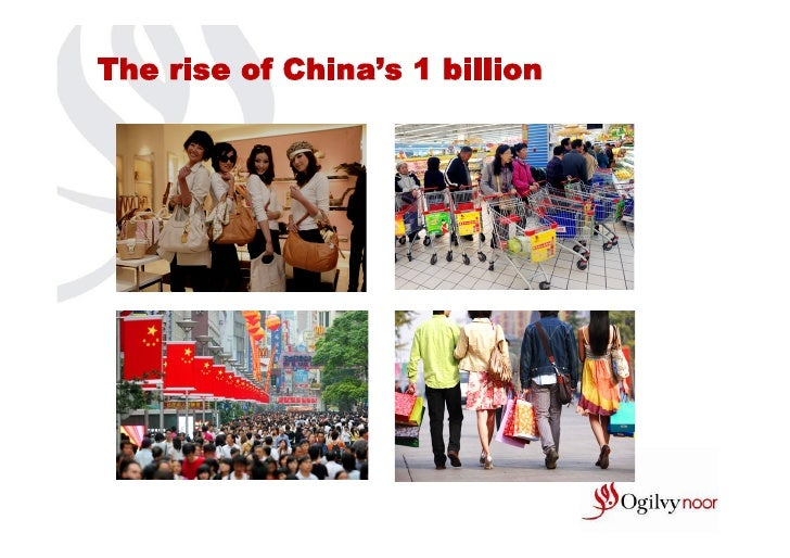 The rise of China's 1 billion