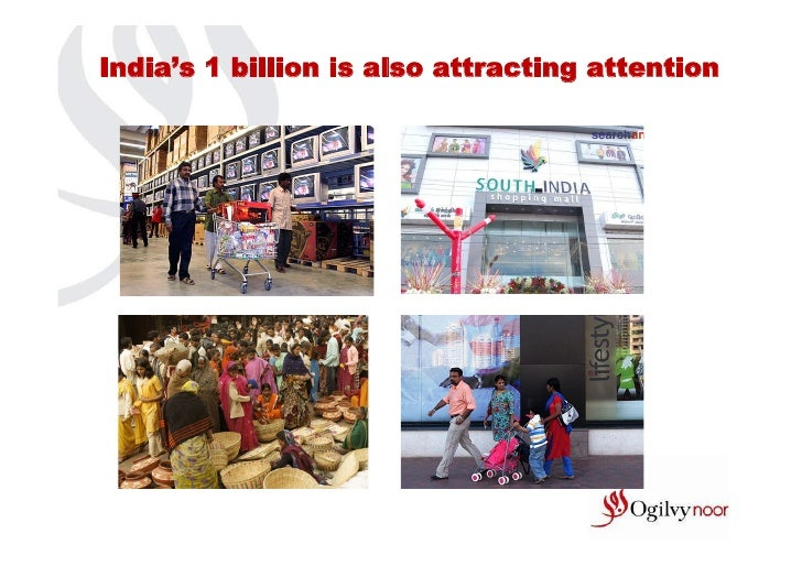 India's 1 billion is also attracting attention