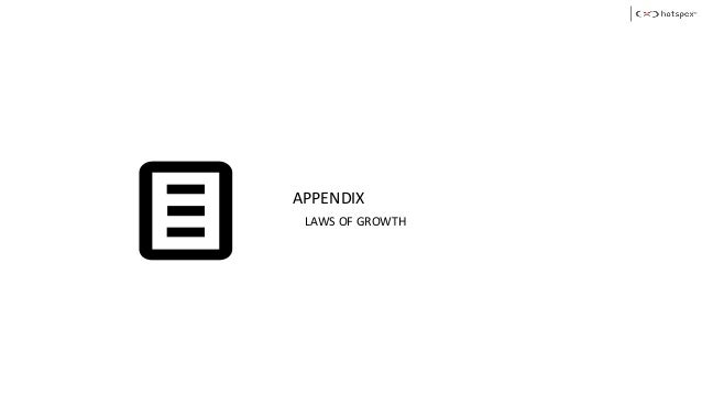 APPENDIX LAWS OF GROWTH