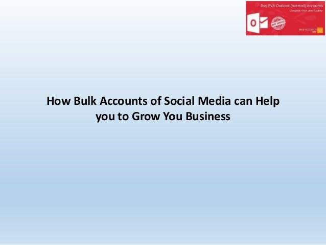 Buy Instagram Accounts at Affordable Rate - Bulkaccountshop com