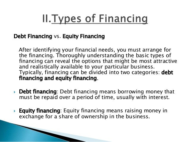 Debt vs. Equity Financing: What's the Best Choice for Your Business?