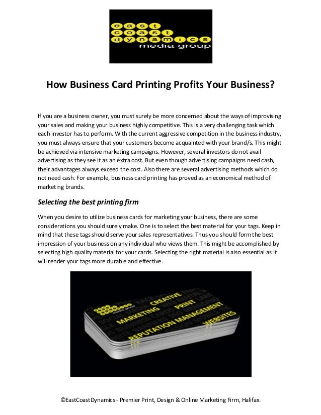 Business Card Printing Halifax Ns Choice Image - Card Design And ...