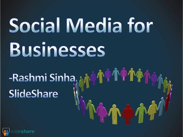 Observations from usage of SlideShareRunning brand campaigns for large clientsStartup using social media