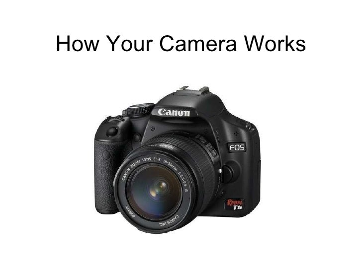 How Your Camera Works