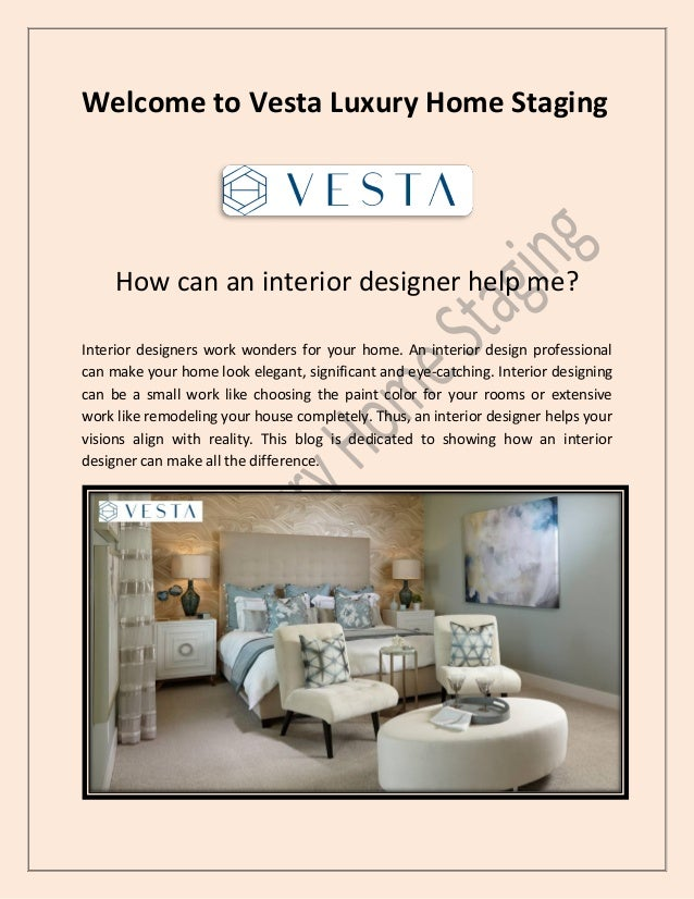 How Can An Interior Designer Help Me
