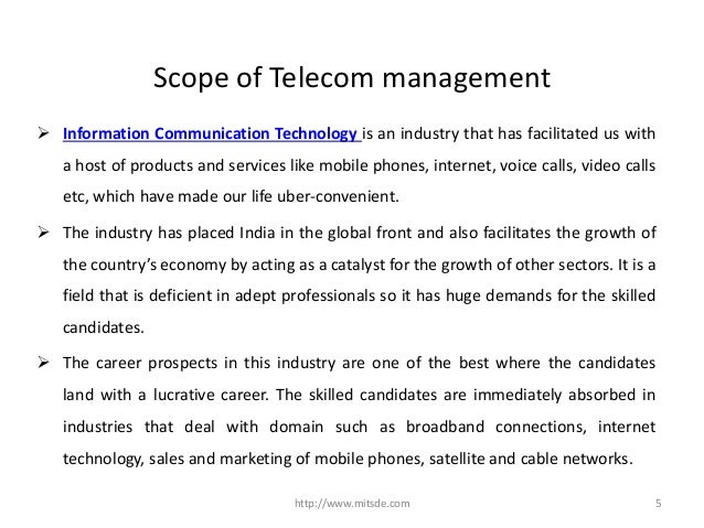 How can a Post Graduate Diploma in Telecom Management from
