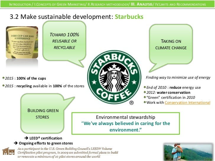 Green marketing plan nandos