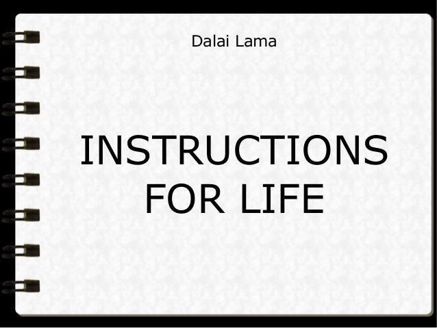 dalai lama personality test pdf