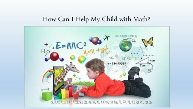 how to help my child with math at home