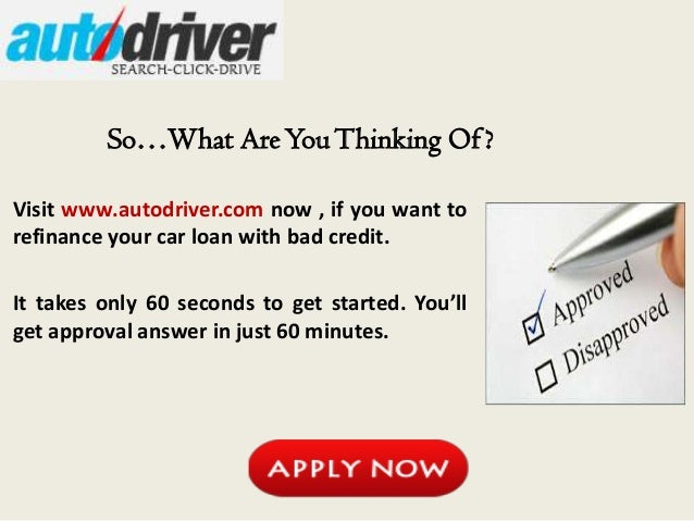 Car Loan Refinance Application  Refinance My Car Loan