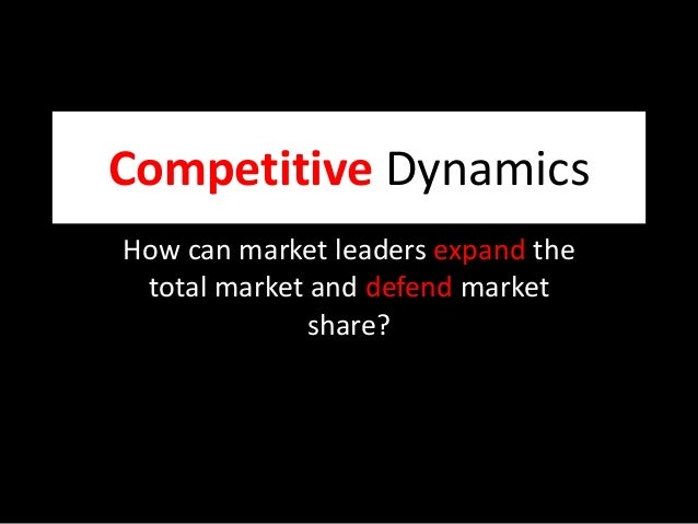 marketing competitive dynamics