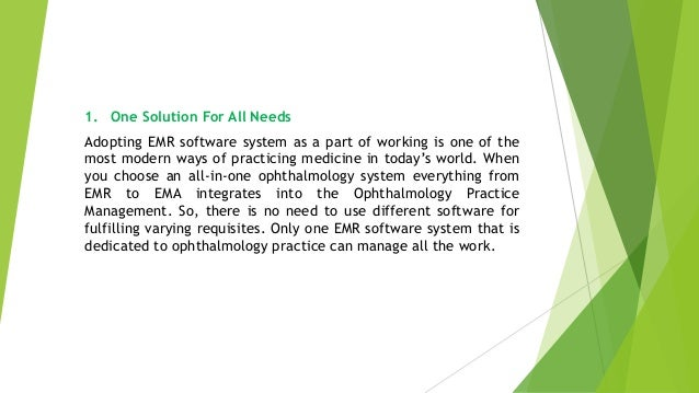 How Can Ophthalmologist Modernize Approach with