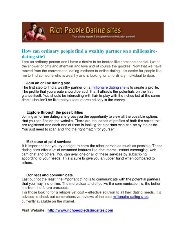 Dating site you dont have to pay for