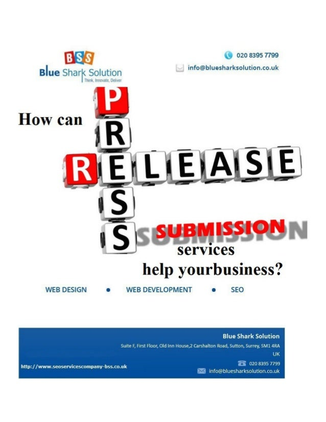 How can press release submission services help your business? In today's highly competitive market, PR can help to improve...