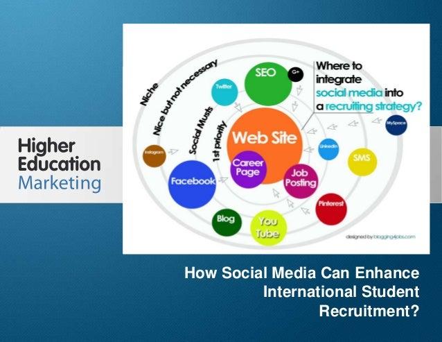 How Can Social Media Enhance International Student Recruitment Slide 1 How Social Media Can Enhance International Student ...
