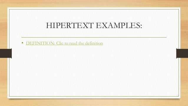 How Can Use A Hypertext Hypermedia And Multimedia For