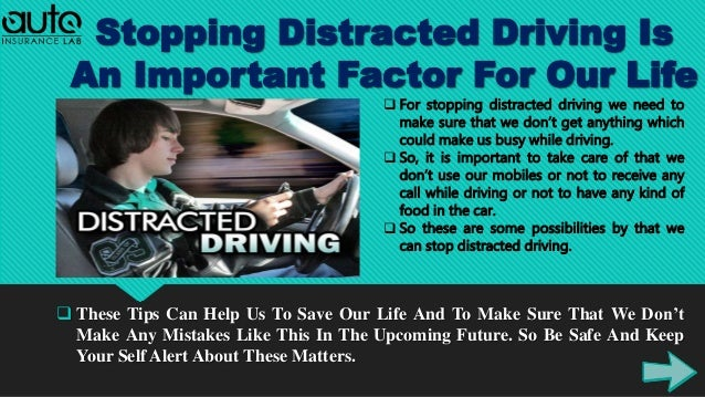 Find Out Distracted Driving Statistics With Tips For