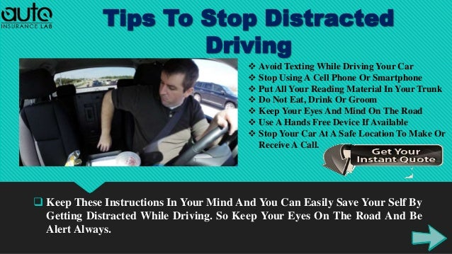 Find Out Distracted Driving Statistics With Tips For ...