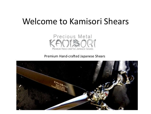 Welcome to Kamisori Shears Premium Hand-crafted Japanese Shears