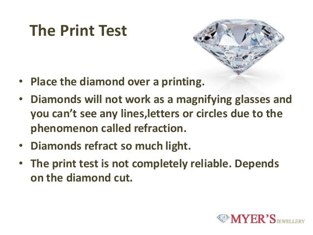 How Can You Tell If A Diamond Is Real