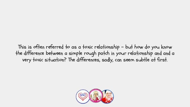 How can you tell if you're in a toxic relationship with a narcissist?