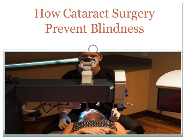 How Cataract Surgery Prevent Blindness