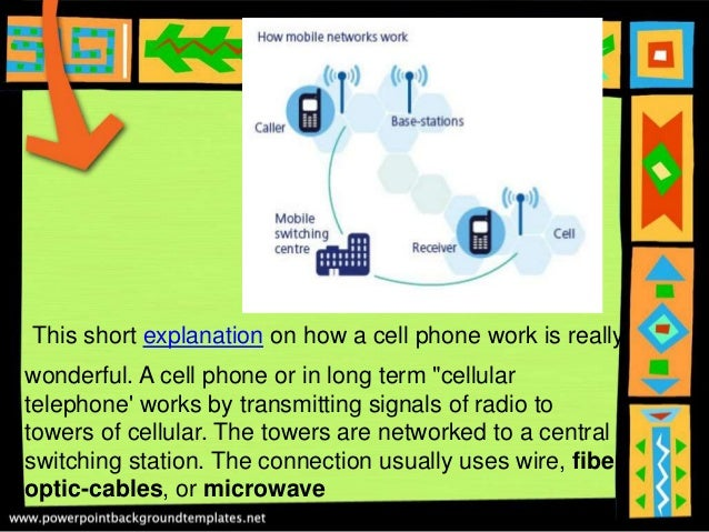 How cell phones work anisza amalia xii-ips
