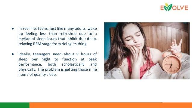 Sleep Impacts Teen 78