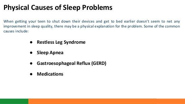 Sleep Impacts Teen 103