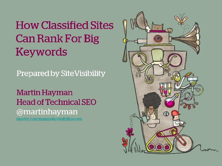 How Classified Sites Can Rank for Big Keywords