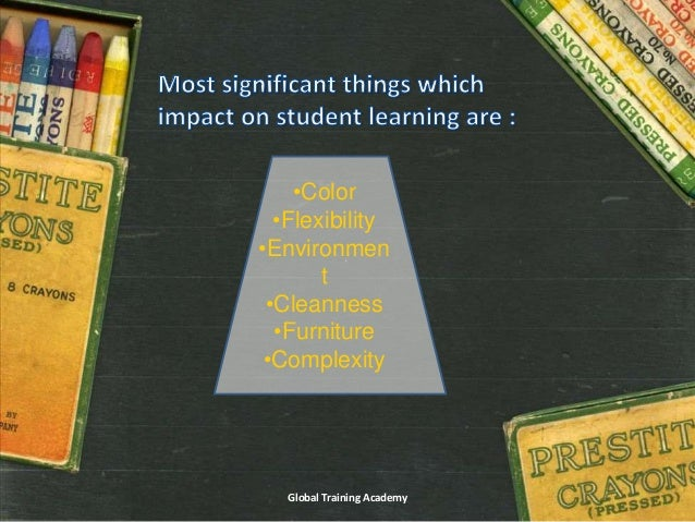 Classroom Design Effect On Learning : How classroom design effects student learning