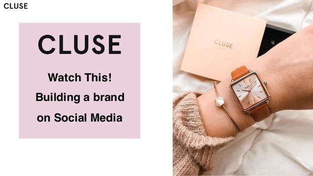 Watch This! Building a brand on Social Media