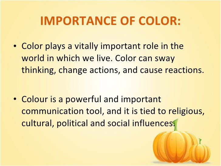 The Importance of Colour for Creatives