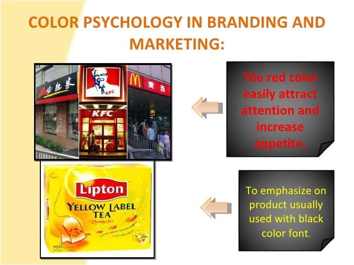 How colors affect communication..
