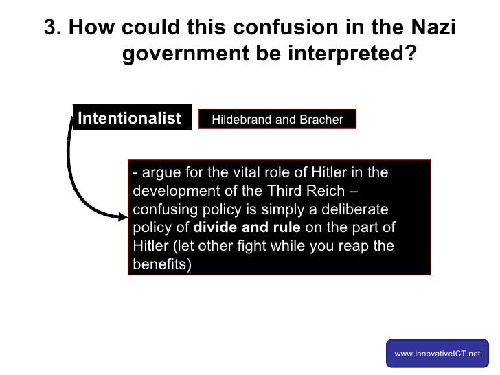 hitler role in the nazi state Stalin's role in the nazi pact inside the stalin-hitler  to light in the state department's recent  does make completely clear the role that the boss.