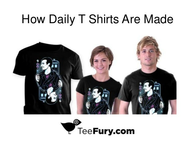 How Daily T Shirts Are Made
