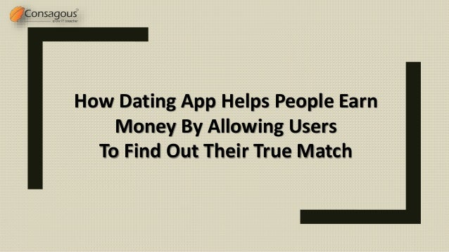 How to earn money by dating