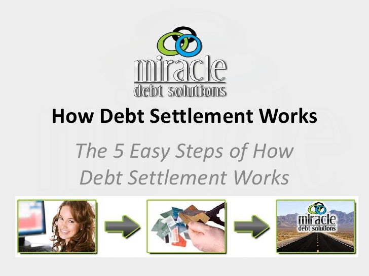 How Debt Settlement Works<br />The 5 Easy Steps of How Debt Settlement Works<br />