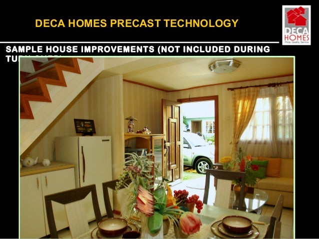 Deca homes model house