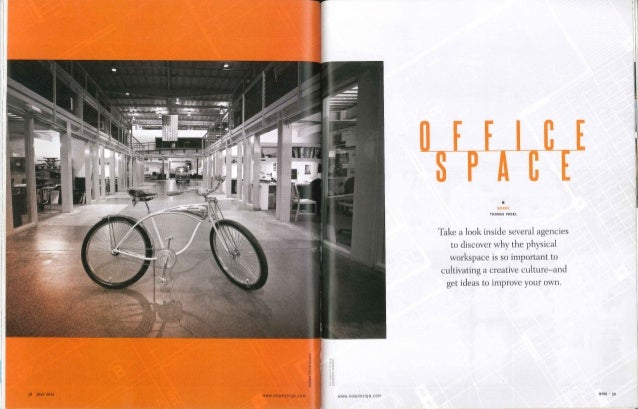 How design magazine discusses off madison ave 39 s creative for Office design publications