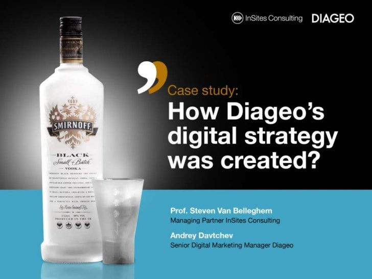 How diageo's digital strategy started?