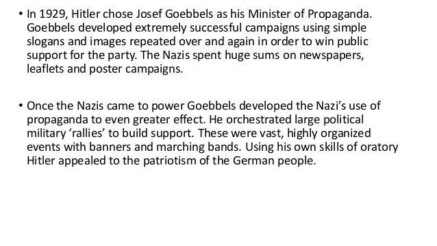 essays on propaganda during the holocaust