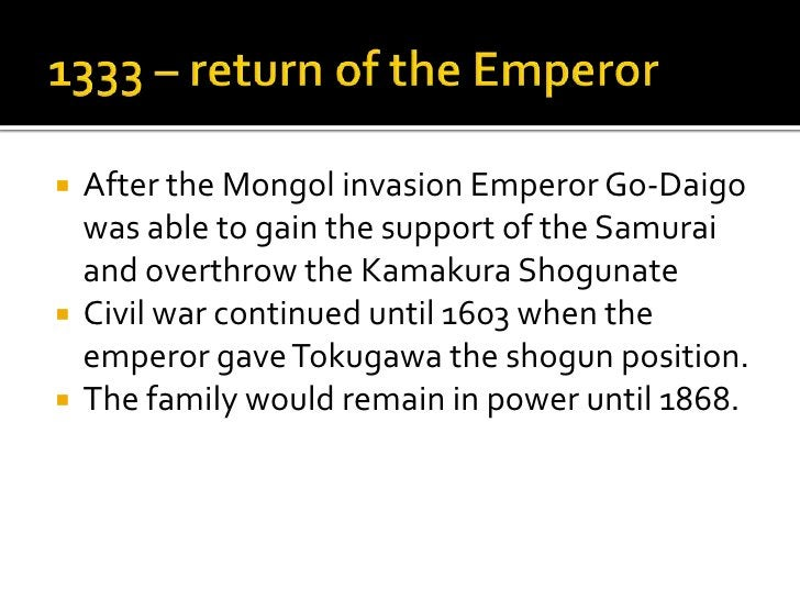 How did the rise of the shoguns change  society