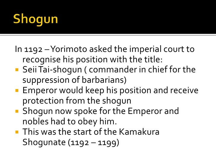  Japan had to unite to  fight the common  enemy. They knew where the  Mongols would land